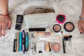 what s in my makeup bag honestly maggie