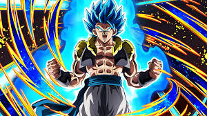 gogeta super saiyan blue dragon ball