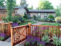Top 60 Best Front Yard Fence Ideas Outdoor Barrier Designs Modern Front Yard Wood Fence Design Fence Design