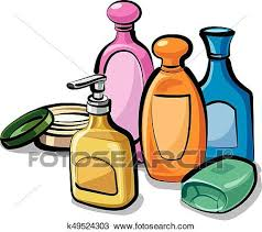 Collection shampoo and soap Clipart | k49524303 | Fotosearch
