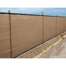 8 X 50 Heavy Duty Tan Fence Screen Mesh Tarp