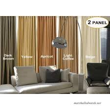 Artdix Blackout Curtains Panels Window Drapes Brown 100w X 84l Inches 2 Panels Grommet Top Nursery Insulated Thermal Solid Faux Linen Fabric Curtains For Bedroom Living Room Kids Room Kitchen B0797wk2qq