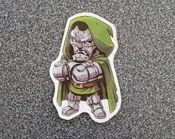Dr Doom Marvel Etsy