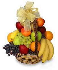 clic fruit basket gift basket in new