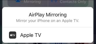 iphone or ipad screen on your apple tv