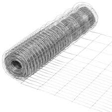 Everbilt 2 3 Ft X 50 Ft Steel Rabbit Garden Fence Welded Wire 308371eb The Home Depot