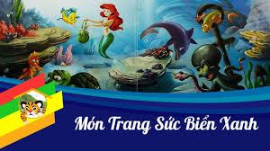 Kể truyện cho bé - Món trang sức biển xanh - Nàng tiên cá Ariel ...