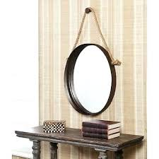 rope hanging mirror