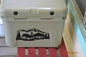 Yeti Cooler Decalspersonalize Decalice Chest Decalcooler Etsy