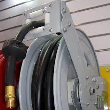 auto rewind hose reel open frame
