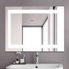 bathroom led backlit mirror
