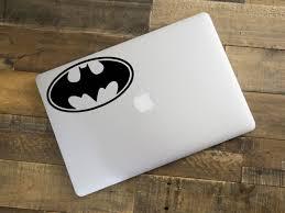 Batman Vinyl Decal Bat Symbol Dc Comics Superhero Decal Etsy