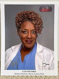 CCH Pounder NCIS New Orleans Autographed Signed 8x10 Photo Doctor Loretta  Wade | eBay