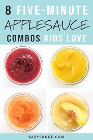 applesauce bos for toddlers kids