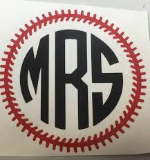 Vinyl Decals For Yeti Cups Round Circle Baseball Threads Monogram Decal For Yeti Equalmarriagefl Vinyl From Vinyl Decals For Yeti Cups Pictures