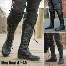 shoes riding boots mens pirate