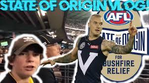 AFL STATE OF ORIGIN 2020 VLOG!!! - YouTube