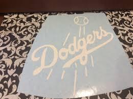 Auto Parts And Vehicles Car Truck Graphics Decals Decal Vinyl Truck Car Sticker Mlb Baseball Los Angeles Dodgers Dcaeagles Com