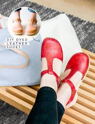 shoe win how to dye leather shoes like