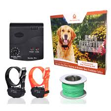 Waterproof Hidden Deluxe 2 Dog Electric Fence Invisible Pet Containment Fencing