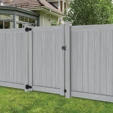 Gate Kit For 60 Opening Classic Privacy Wood Grain Gray Wood Hinges Latch Included For 10ft Double Gate Order 2
