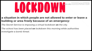 Lockdown meaning Urdu Hindi - YouTube