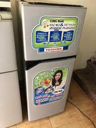 Tủ lạnh toshiba 160l quạt gió - Điện lạnh, Máy, Gia dụng tại Hà Nội -  28504095