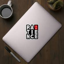 patience is a virtue quotes text ese design patience