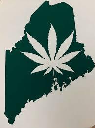 Weed Cannabis Marijuana Pot in/outdoor Vinyl Bumper Sticker Decal ...
