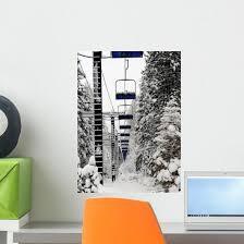 Ski Lift Lake Tahoe Wall Decal Wallmonkeys Com