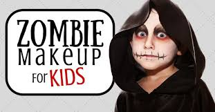 zombie makeup for kids 7 ghastly tips