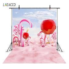 خلفيات للحفلات من Laeacco كاندي بار ستارة خلفية للتصوير