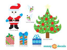 Sunny Decals Christmas Tree Wall Decal Wayfair