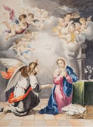 Annunciazione del Signore – Murillo – Sonia Adragna Pittrice
