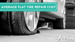 average flat tire repair cost for nails