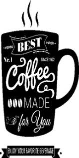 Second Life Marketplace Q Essentials Coffee Made For You Wall Decal