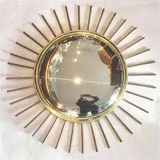 convex or e sunburst mirror