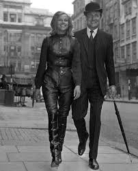 Honor Blackman and Patrick McNee (With images)
