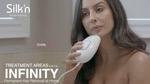 silk n infinity permanent hair removal