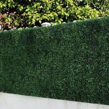 6 Piece Artificial Boxwood Hedges Greenery Panel Privacy Fence Screen For Outdoor Wall Home Decoration By E Joy Walmart Com Walmart Com