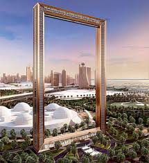 does the dubai frame depict an ugly