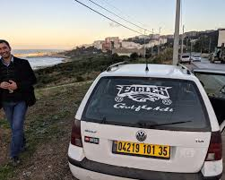 Found An Eagles Decal In Algeria Pretty Sure This Guy Had No Idea What It Meant Eagles
