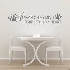 Paws On My Mind Black Dog Decals