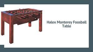halex monterey foosball table review 2020