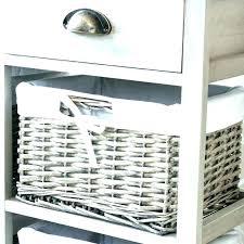 white wicker bathroom shelf shelves