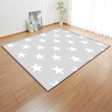 Modern Livingroom Anti Slip Flannel Area Rug Kids Room Floor Carpets Baby Play Crawling Stars Ripple Pattern Mat Rugs Carpet Carpet Aliexpress