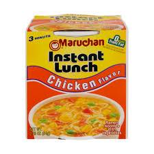 lunch en flavor ramen noodles