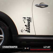 2x Stormtrooper Set Dark Side First Order Star Wars Car Vinyl Sticker Decal Ebay Camo Truck Accessories Vinyl Star Wars