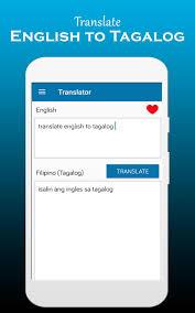 English to Tagalog Dictionary ...