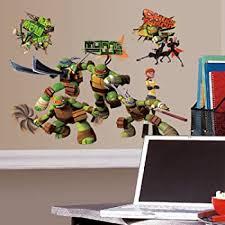 Amazon Com New Giant Leonardo Wall Decals Teenage Mutant Ninja Turtles Stickers Kids Mural Kitchen Dining